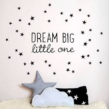 stick on peel off wall decals dream big little one wall sticker  on dream big little one wall art with wall decal awesome stick on peel off wall decals stick on wall
