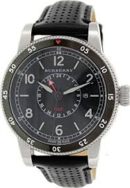 amazon com burberry the utilitarian mens watch stainless steel burberry the utilitarian mens watch stainless steel