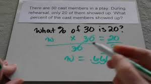 finding percent in word problems th grade and up