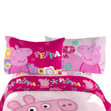Peppa Pig Bedroom Accessories Peppa Pig Pillowcase Home Bed Bath Bedding Sheets