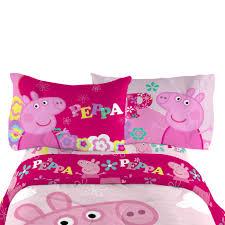 Peppa Pig Bedroom Furniture Peppa Pig Pillowcase Home Bed Bath Bedding Sheets