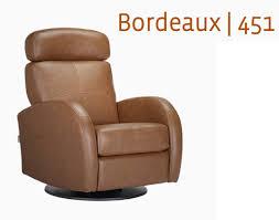 dutailier leather glider bordeaux 451 swivel recliner glider