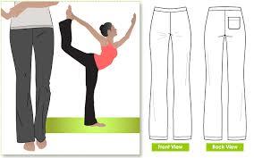 Yoga Pants Pattern