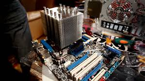 main image screw. Fix Cooler On Main Board With Screw HD Stock Footage Clip Image