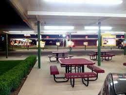 Sonic Drive In Or Tables You Can Take A Seat Picture Of Sonic