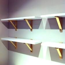 diy shelf brackets wood wood shelf brackets gold painted shelf brackets real houses of the bay diy shelf brackets wood