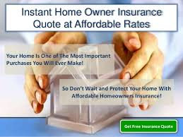 Online Home Insurance Quote