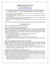 Game Warden Resume Examples Clinical Research Associate Resume Example Examples of Resumes 25