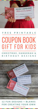 best images about ~christmas printables exchange on printable coupon books for kids a fun gift idea for the holidays or birthdays