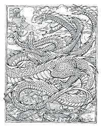 Free Printable Dragon Coloring Pages Dragon Printable Coloring Pages