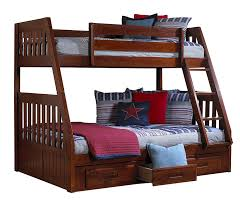 Amazon.com: Discovery World Furniture Twin over Full Bunk Bed with ...