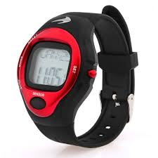 amazon com heart rate monitor watch red best for men women amazon com heart rate monitor watch red best for men women running jogging walking gym exercise iron man cycling sports digital timer stop