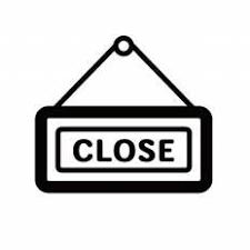 閉店シルエット イラストの無料ダウンロードサイトシルエットac