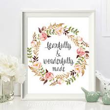 nursery scripture print christian wall art scripture print fearfully and wonderfully made nursery on bible verse wall art canvas with bible verse print decor he makes me as from butterflywhisper on