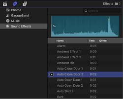 Add Music And Sound In Final Cut Pro Apple Support