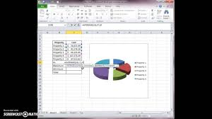 3d Pie Chart Excel 2013 Exploded Pie In 3 D Chart To Summarize Property Values Youtube