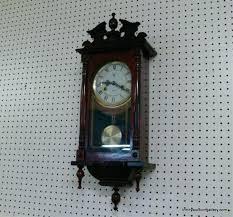 key wind wall clock lot new key wind day wall clock waltham 31 day chime key
