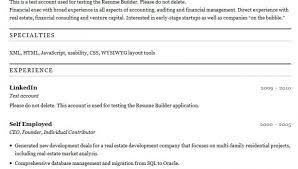Best Resume Builder | Resume CV Cover Letter