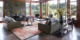 contemporary rug liquid design rust in situ