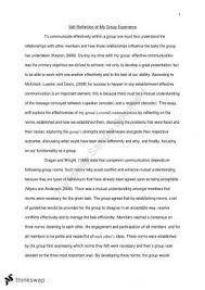comu reflective essay comu communication skills  comu1030 effective group communication essay