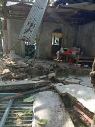 This was the strongest quake in a series of three earthquakes of magnitude 5.0 to 5.9 to hit batangas in the luzon province, about 55 miles (90km) south of manila, around 3pm local time or 7am gmt. Strong Quake In Philippines Kills One Damages Quarantine Centre World News Us News