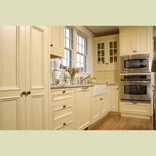 Wood Trim Kitchen Cabinets Kitchen Cream Cabinets Wood Trim Quicuacom