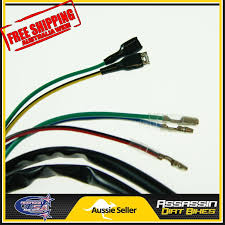 complete kick start engine wiring harness loom cc cc cc complete kick start engine wiring harness loom 125cc 140cc 150cc pitpro dirt bike