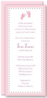 Imprintable Baptism Invitations Girl Baby Feet Imprintable From 29th Street Designs The Invitation