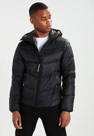 Men's Down Jackets | Quilted Jackets | ZALANDO UK & ATTACC QLT HDD DOWN JKT - Down jacket - black Adamdwight.com