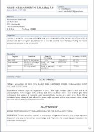 Electronics and Communication Engineering Resume Samples for Freshers