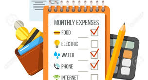 Monthly Expenses Calculator Expenses Incurred While Living Away From Home