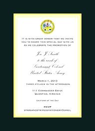 Retirement Invitations Free Free Military Retirement Invitation Template Event Birthday