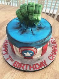 Diy Avengers Birthday Cake Birthdaycakeformancf