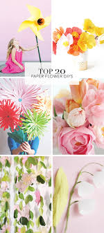 Diy Paper Flower Tutorials Alice And Lois20 Favorite Diy Paper Flower Tutorials Alice