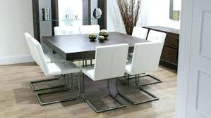 modern round dining table and chairs large size of decorating contemporary glass room tables kitchen furniture