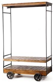Rolling Coat Rack With Shelf Classy Brilliant Along With Stunning Clothing Rack On Wheels Intended For