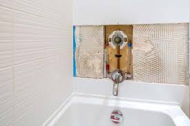 the diverter valve in a bathtub switches the flow of water from the spout to the