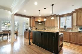 Kitchen Center Island Cabinets Gourmet Kitchens And Cabinets Hannegan Construction