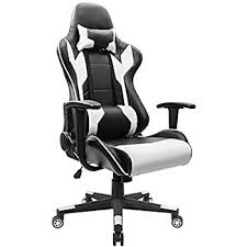 chair with lumbar support. Amazon Com Video Gaming Chair Home Office Computer With Regard To Back Support Desk Idea 18 Lumbar S