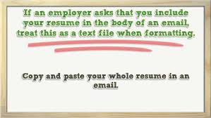 Helpful Tips For Emailing Your Resume Youtube