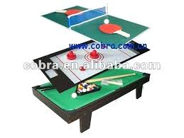 Game Sport Toys Buy Entertainment 3 In 1 Multi Air Hockey Billiard Combination Table Walmart Tables