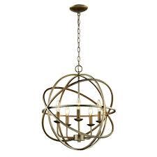 bel air lighting light antique silver multi