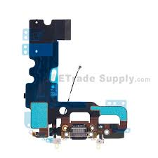 for apple iphone 7 charging port flex cable ribbon replacement black grade s