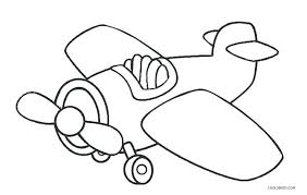 Printable Airplane Coloring Pages Free Printable Airplane Coloring