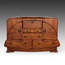 vintage art deco furniture. vintage art deco bar cabinet france early 20th c walnut veneer brass mounts ebay furniture