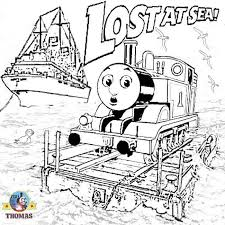 Small Picture Thomas The Train Coloring Pages Coloring Home