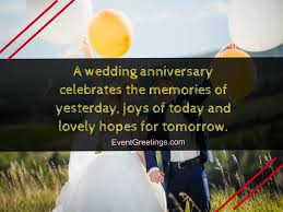 Wedding Anniversary Quotes Awesome Happy Wedding Anniversary Wishes To A Couple Events Greetings