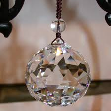fengshui crystal ball 40mm hanging crystal ball for chandelier parts lighting accessory tree decoration qjxp5881