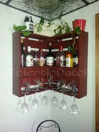 handmade handcrafted wine rack liquor