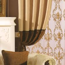 Bedroom Coffee Chenille Modern Drapes And Curtains (No Valance)
